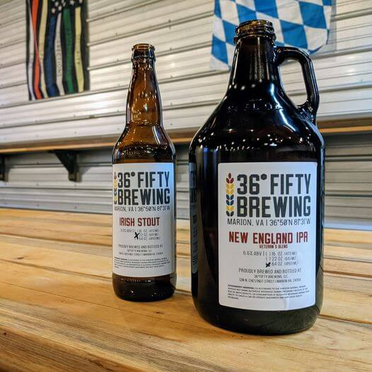 36 Fifty Brewing Brewery in Smyth County VA