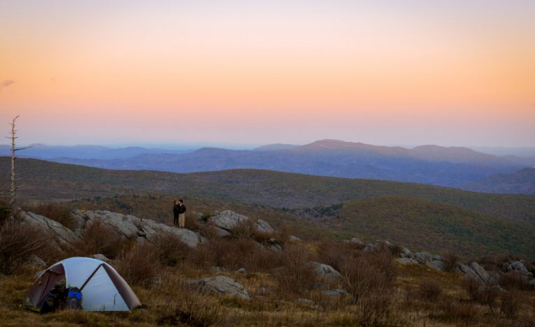 Camping at Grayson Highlands State Park