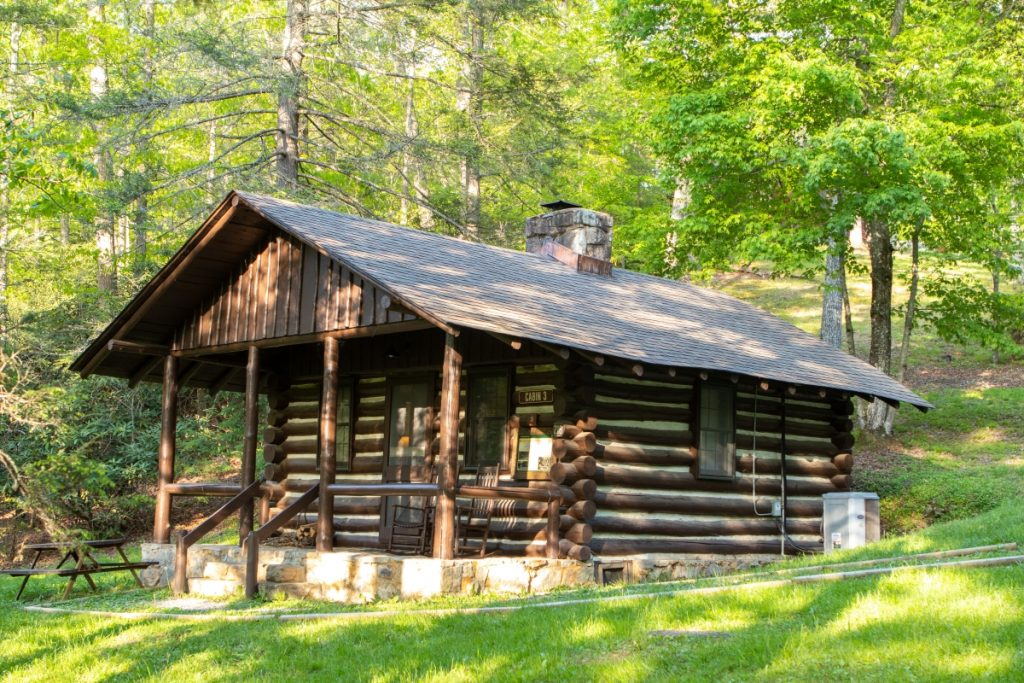 Where to Stay at Hungry Mother State Park Cabin