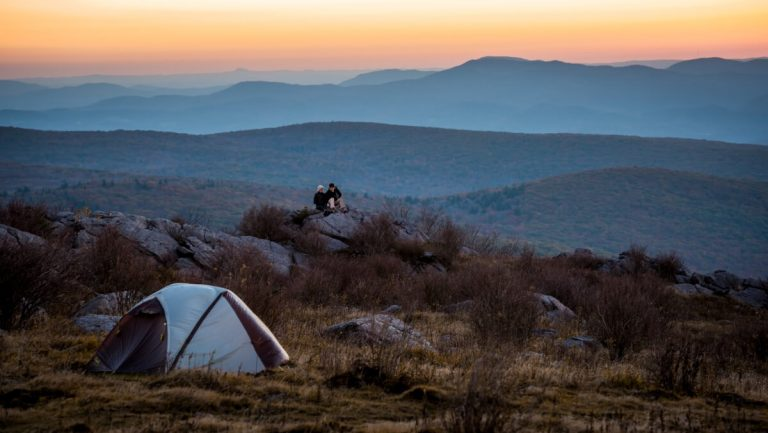 Camping at Mount Rogers in Smyth County VA