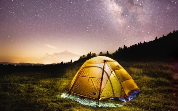 Camping and Stargazing in Grayson Highlands State Park in Smyth County VA