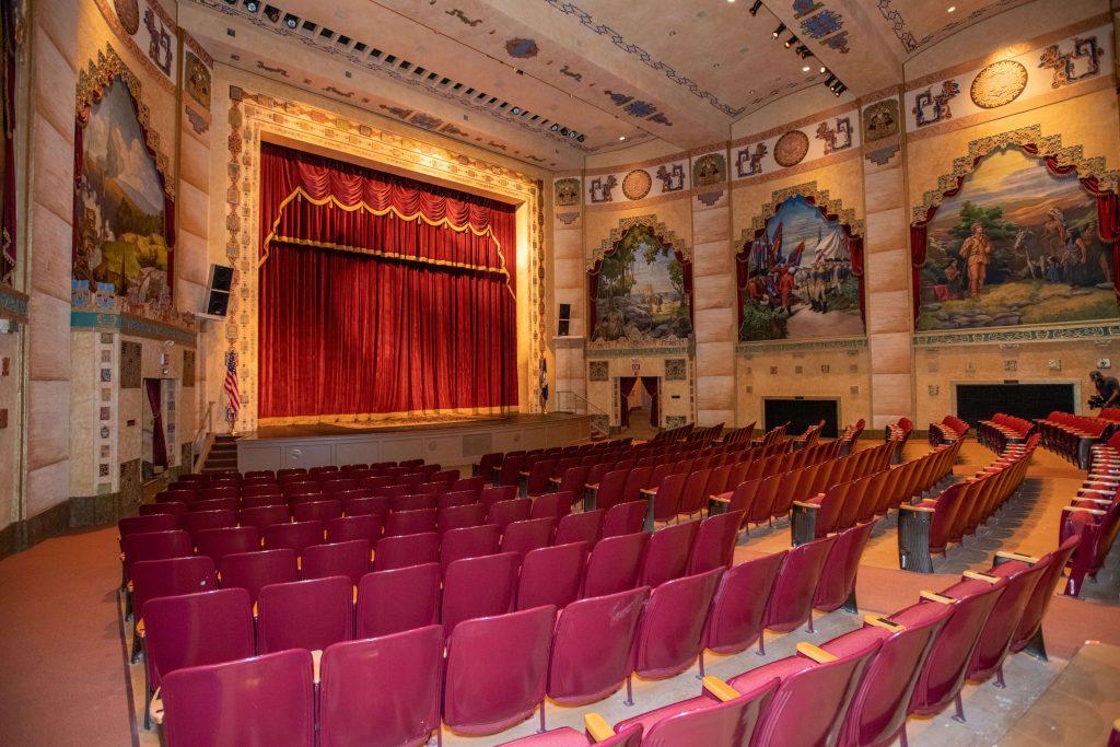 The Lincoln Theatre Historic Interior in Smyth County VA