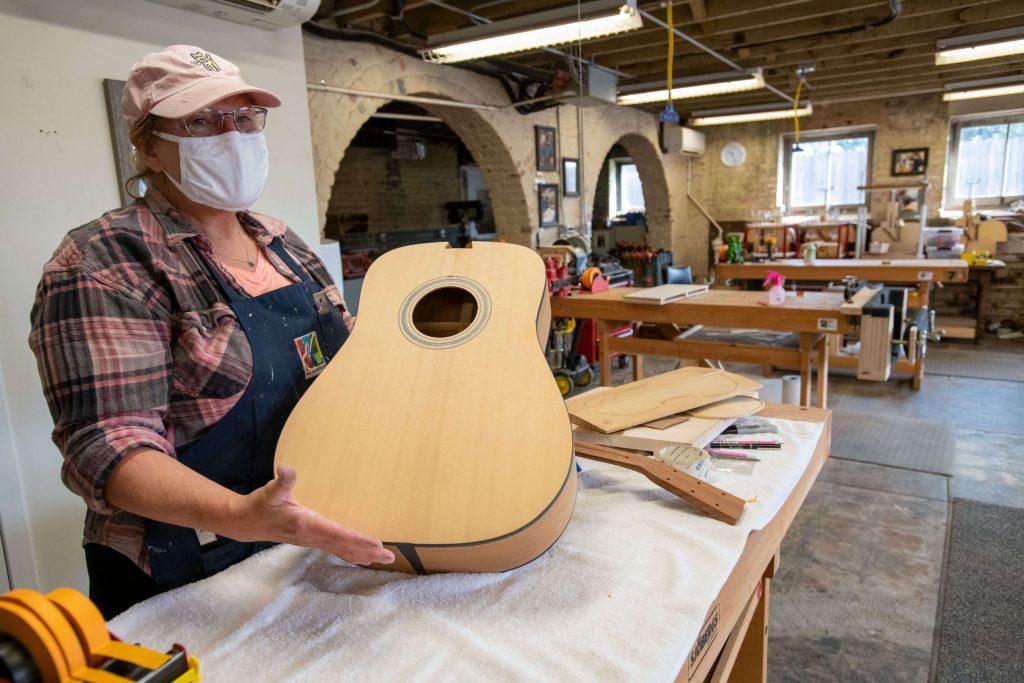 Wayne Henderson Guitar Shop in Smyth County VA