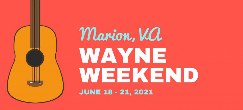 Wayne Weekend graphic