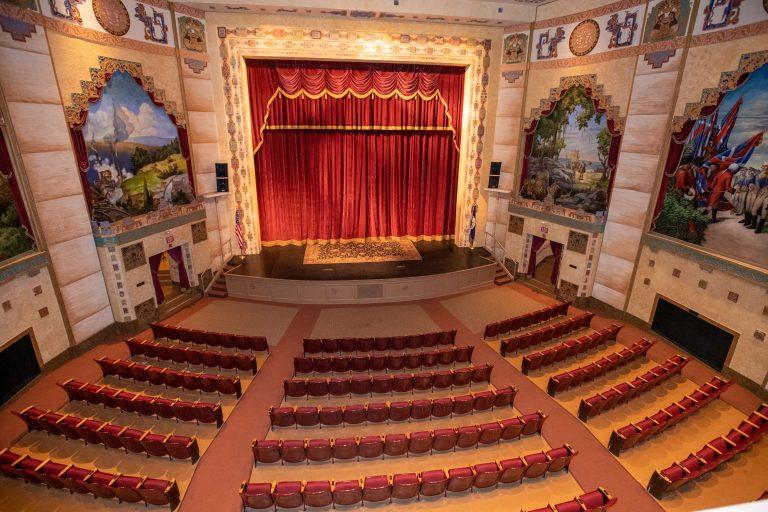 Interior of the Lincoln Theatre Marion